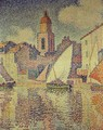 The Clocktower at St. Tropez, 1896 - Paul Signac
