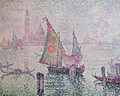 The Green Sail, Venice, 1904 - Paul Signac