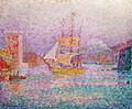 Harbour at Marseilles, c.1906 - Paul Signac