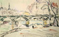 The Pont des Arts, 1924 - Paul Signac