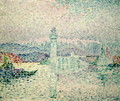 The Lighthouse at Antibes, 1909 - Paul Signac