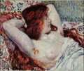 Woman with Red Hair, 1906 - Theo van Rysselberghe