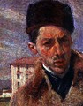 Self portrait, 1908 (detail) - Umberto Boccioni