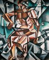 Seated Figure, 1914-15 - Lyubov Popova