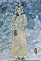 The Snow Maiden, a sketch for the Opera, 1890s - Mikhail Aleksandrovich Vrubel