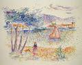 Sailing Boats at the Seaside - Henri Edmond Cross