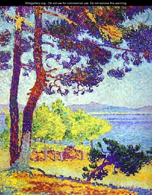 Afternoon at Pardigon, Var, 1907 - Henri Edmond Cross