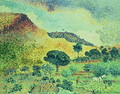 The Maures Mountains, 1906-07 - Henri Edmond Cross