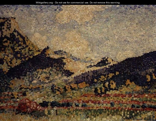Study for the Small Maures Mountains, 1909 - Henri Edmond Cross