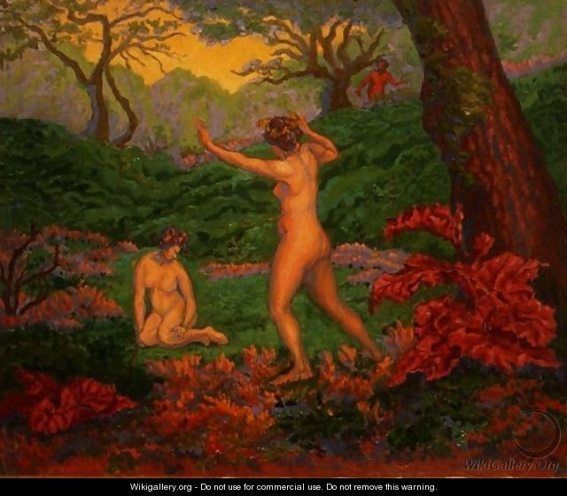 The Faun and Spring, 1895 - Paul-Elie Ranson