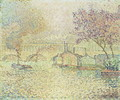 The Viaduct at Auteuil, c.1900 - Paul Signac