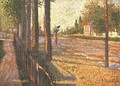 The Railway Junction at Bois-Colombes, or La Route Pontoise, 1886 - Paul Signac