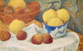 Apples with a Blue Dish, 1922 - Paul Serusier