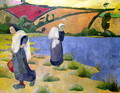 Washerwomen at the Laita River, near Pouldu, 1892 - Paul Serusier