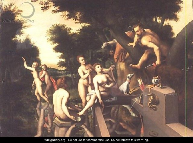 Diana and Actaeon - Anonymous Artist
