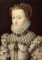 Portrait of Elisabeth of Austria (1554-92) 1571 - (attr. to) Clouet, Francois