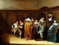 Dutch Cavaliers and their Ladies Making Music, 1631 - Pieter Codde