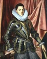 Portrait of a Young Man in Armour - Claudio Coello