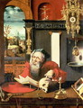 St. Jerome in his Study - Pieter Coecke Van Aelst