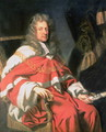Portrait of Judge George Jeffreys, First Baron of Wem (1648-89) - Johann Closterman