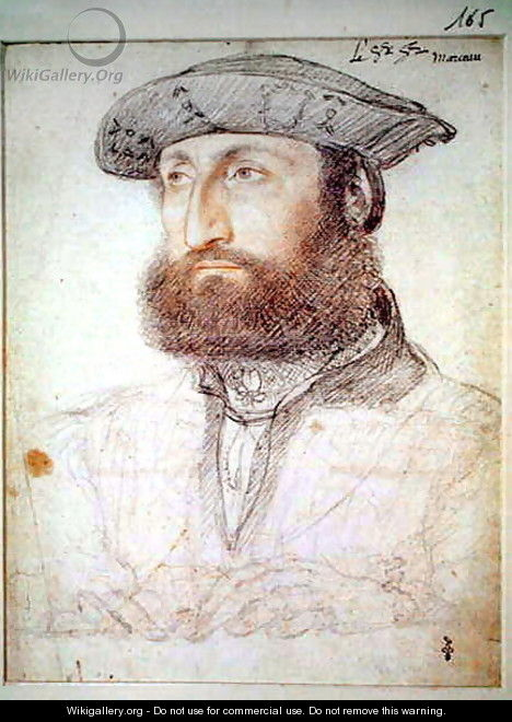 Louis de Cleves, comte de Nevers(1495-1545), c.1530 - (studio of) Clouet