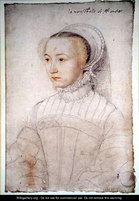 Marguerite de Lustrac (c.1520-74), wife of Jacques d