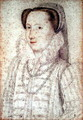 Portrait of an unknown Lady, c.1575 - (studio of) Clouet