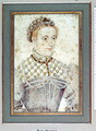Portrait presumed to be Mary Queen of Scots (1542-87) c.1560 - (studio of) Clouet