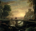 Landscape with an Imaginary View of Tivoli, 1642 - Claude Lorrain (Gellee)
