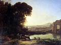 Cattle and Goats drinking by a ruin - Claude Lorrain (Gellee)