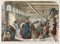 Hastings Railway Station - The Arrival of the Down-Train - Florence Claxton