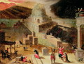 The Destruction of the Tower of Babel - Hendrick van Cleve