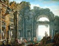 Architectural Ruins (2) - Charles-Louis Clerisseau