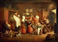 Peasant Wedding - Marten Van Cleve