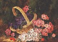 Basket of Flowers - George Clare