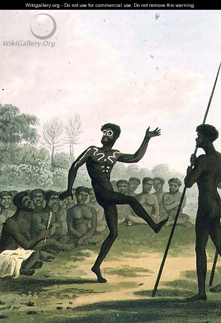 The Dance, aborigines from New South Wales - John Heaviside Clark (after)