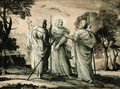 Journey to Emmaus - Claude Lorrain (Gellee)