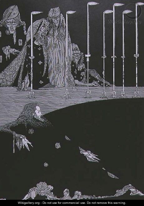 The Pit and the Pendulum, c.1923 - Harry Clarke