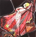 The Geneva Window depicting a character from 'Mr Gilhooley', 1929 - Harry Clarke