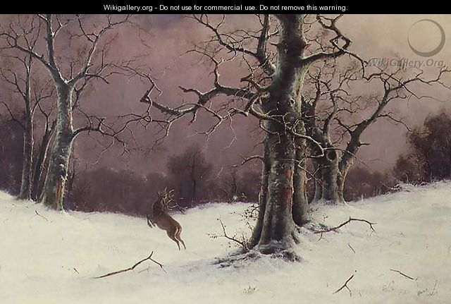The Deer Hunt - Nils Hans Christiansen