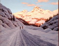 The Late Afternoon Ski Run - Ivan Fedorovich Choultse
