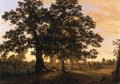 The Charter Oak at Hartford, c.1846 - Frederic Edwin Church