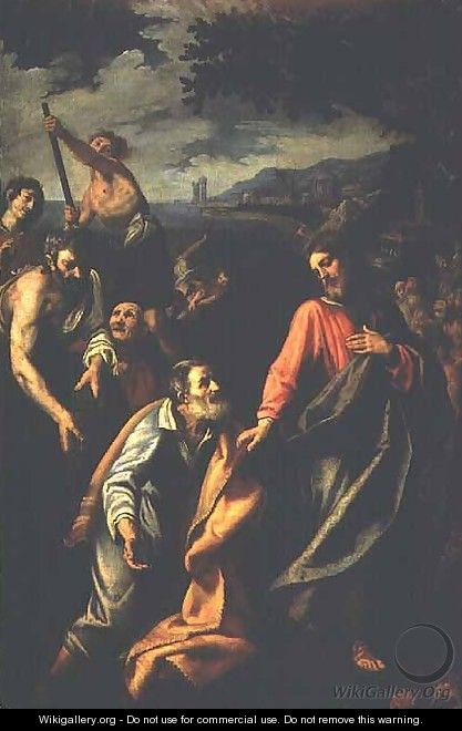 The Third Appearance of Christ to Peter - Lodovico Cardi Cigoli