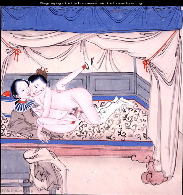 Couple in a Bed - Anonymous Artist