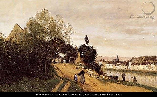 Chateau Thierry - Jean-Baptiste-Camille Corot