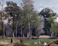 In the Woods at Ville d'Avray - Jean-Baptiste-Camille Corot