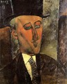 Portrait of Max Jacob - Amedeo Modigliani