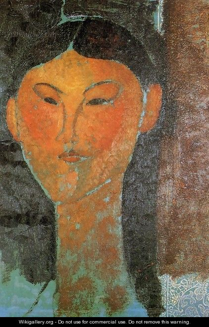 Portrait of Beatrice Hastings II - Amedeo Modigliani