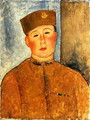 The Zouave 2 - Amedeo Modigliani