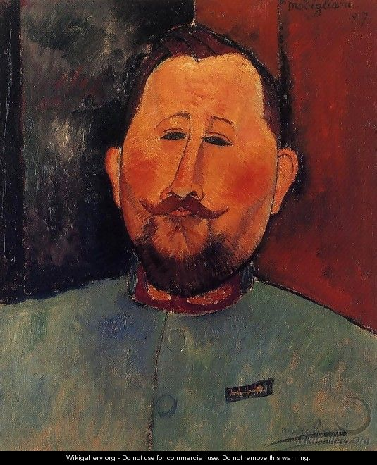 Portrait of Doctor Devaraigne - Amedeo Modigliani